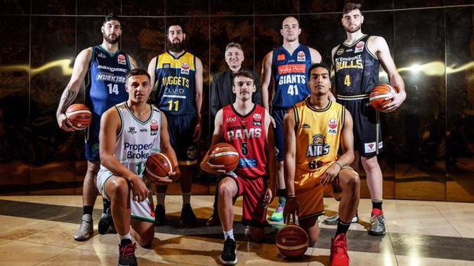 Photo media session for the launch of the 2020 Sal's NBL basketball season. Photo / Photosport