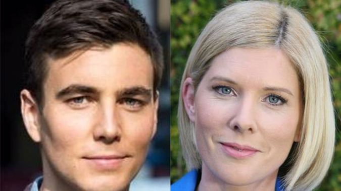 Jack Tame and Rebecca Wright could both be in the running to fill TVNZ's 6pm presenter slot. Photos / Supplied