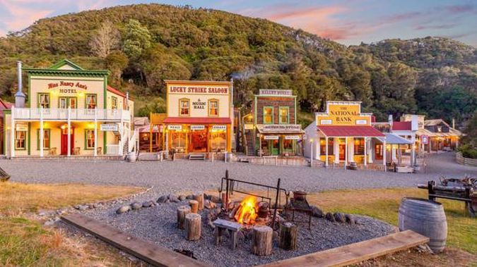 The whole town is for sale. Photo / Sotheby's International Realty