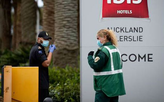 The Novotel in Ellerslie is one of the country's isolation facilities. (Photo / NZ Herald)