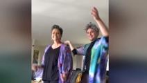 Watch: Paula Bennett joins Tom Sainsbury for retirement dance