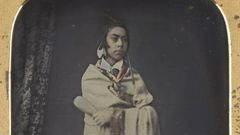 """""""Hemi Pomare"""", 1846, cased, colour applied, quarter-plate daguerreotype, likely the oldest surviving photographic image of a Māori. Photo / National Library of Australia"""