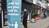 The British government has reimposed lockdown restrictions in the English city of Leicester after a spike in coronavirus infections. (Photo / AP)