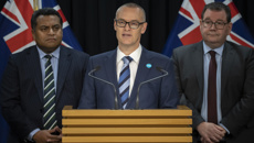 Health Minister David Clark resigns
