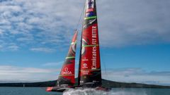 Questions remain about Emirates Team New Zealand's America's Cup campaign as the Government seeks answers on its financial spending. Photo / Supplied