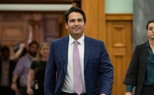 Simon Bridges has picked up a key portfolio for the National Party. (Photo / Pool)