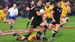 Last year's Bledisloe Cup match. (Photo / Photosport0