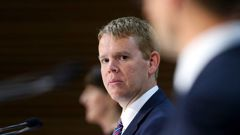 State Services Minister Chris Hipkins says criminal charges could be on the table if there is malice behind a leak of Covid-19 patient details. Photo / Mark Mitchell