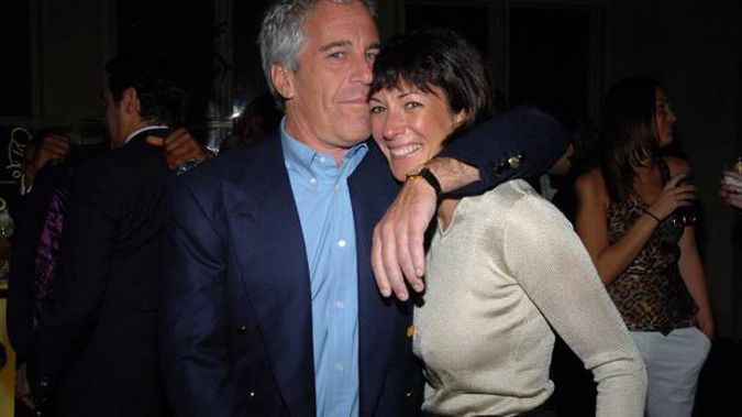 Jeffrey Epstein and Ghislaine Maxwell at a New York event in 2005. (Photo / Getty)