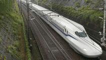 Japan debuts new bullet train that can run during an earthquake
