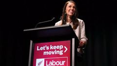 Prime Minister Jacinda Ardern speaks at Labour's Congress in Wellington. (Photo / Getty)