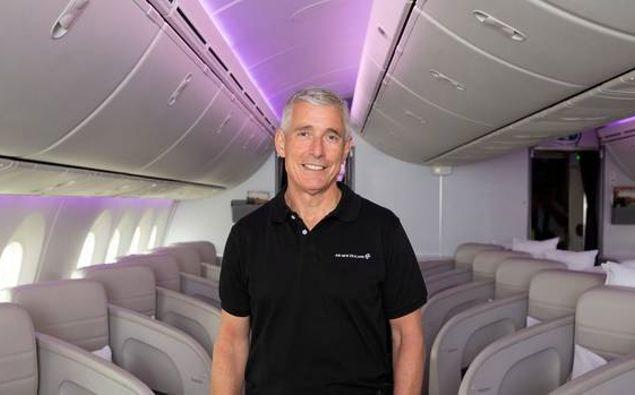 Air New Zealand chief executive Greg Foran. (Photo / Supplied)