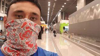 Auckland man faces month-long wait in Brazilian transit lounge