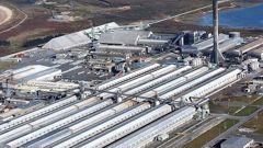 Rio Tinto's aluminium smelter at Tiwai Point. Photo / Supplied