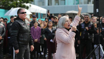 'Our Govt wants to kill our babies': Brian Tamaki addresses Auckland protest