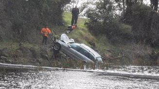 Two dead after car crashes into Lake Rotoma