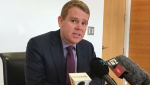 Health Minister Chris Hipkins. (Photo / NZ Herald)