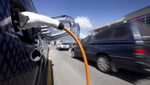 People can only find electric car charging stations now. (Photo / File)