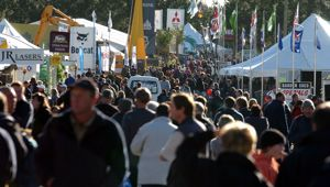 Fieldays when it could still be held in person. (Photo / Getty)