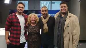 Sol3 Mio joins Kerre McIvor in studio ahead of new show