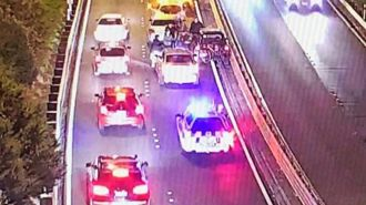 Strangers save motorist after he suffers cardiac arrest, crashes on motorway