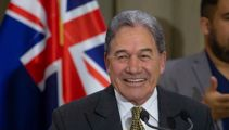 Why Winston Peters is not worried about Judith Collins