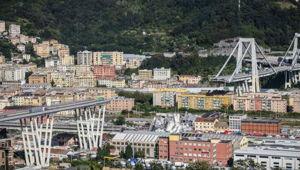 Genoa Bridge. (Photo / AP)