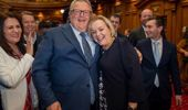 New National leader Judith Collins and deputy leader Gerry Brownlee. (Photo / Mark Mitchell)
