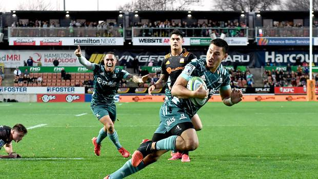 Highlanders beat Chiefs 33-31 in Super Rugby Aotearoa
