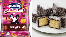 Bluebird launches 'Kiwi Favourites' range - including lamington-flavoured chips
