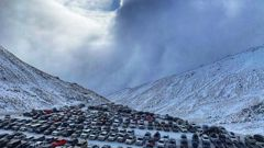 The car park at The Remarkables ski resort in Queenstown on 10 July. Photo: Supplied / Jacqui Keay