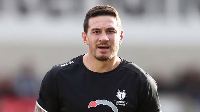Sonny Bill Williams training with the Toronto Wolfpack in Canada. Photo / Getty Images.