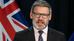 Iain Lees-Galloway. (Photo / NZ Herald)