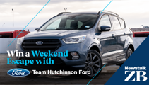 Christchurch: Win a weekend away in a Ford Escape ST Line!