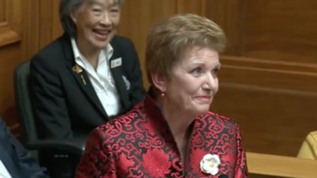 National Party MP Anne Tolley gives emotional sign-off from politics