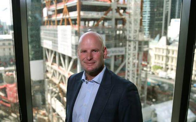 Scott Pritchard, chief executive of Precinct Properties. (Photo / File)