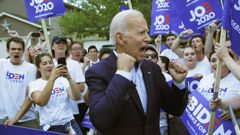Joe Biden is set to name his VP pick next week for this year's election. (Photo / File)