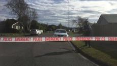 Christchurch street closed after man struck by car