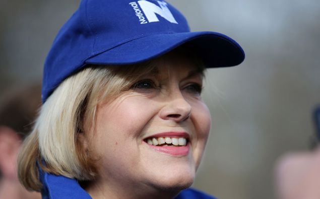 National leader Judith Collins will be smiling at the latest TVNZ Colmar-Brunton poll. (Photo / Getty)