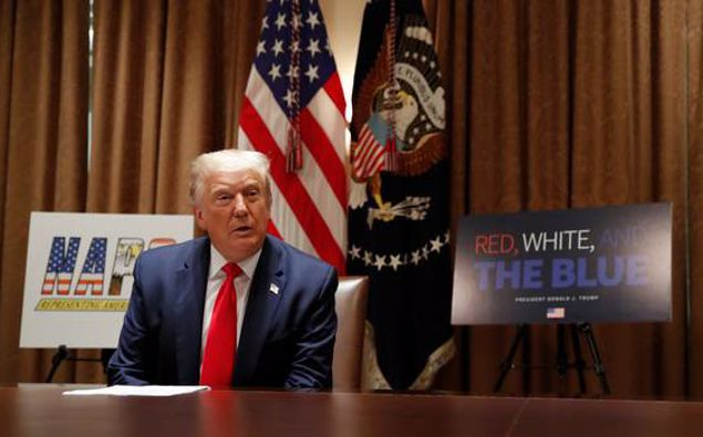 Mary Trump told Newstalk ZB she believes her uncle is surrounded by enablers, including people who are both weaker and stronger than the president himself. (Photo / AP)