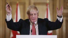UK PM Boris Johnson. (Photo . AP)
