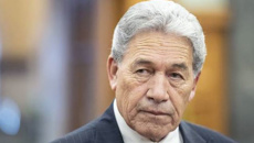 Winston Peters praises Jacinda Ardern, criticises 'woke movement'