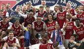 Arsenal just won the FA Cup last week. (Photo / AP)
