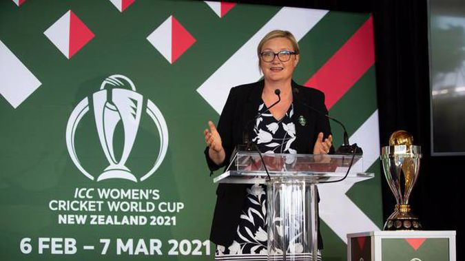 Women's World Cup CEO Andrea Nelson. Photo / Photosport