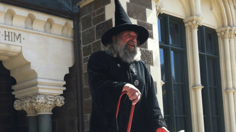 Christchurch's wizard profiled by US network CNN; talks plans to hand title down