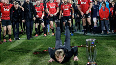 Comm Box on the Crusaders' Super Rugby win
