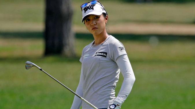 Lydia Ko during the final round of the Marathon Classic LPGA golf tournament. (Photo / AP)
