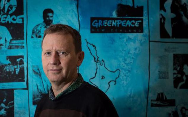 Greenpeace NZ boss Russel Norman. Photo / Dean Purcell