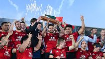 Crusaders admit damaging trophy in Super Rugby celebrations