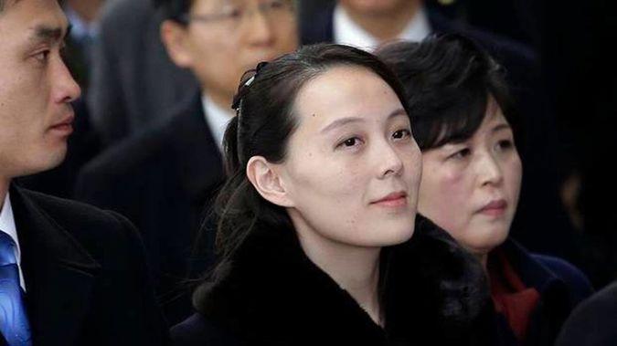 Kim Yo Jong is reportedly taking further control of North Korea. (Photo / AP)
